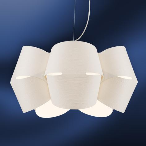 Lámpara colgante Mini Alien blanco