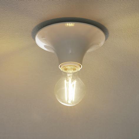 Teti design-væglampe, hvid