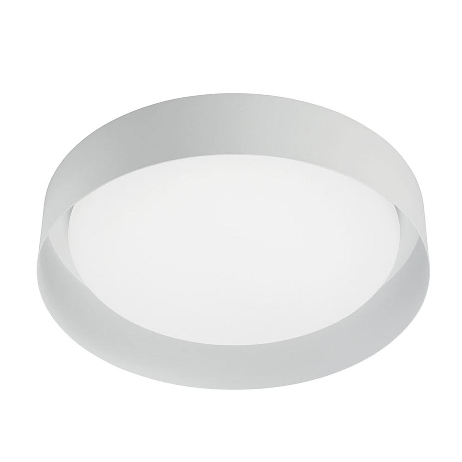 Plafonnier LED Crew 2, Ø 26cm, blanc