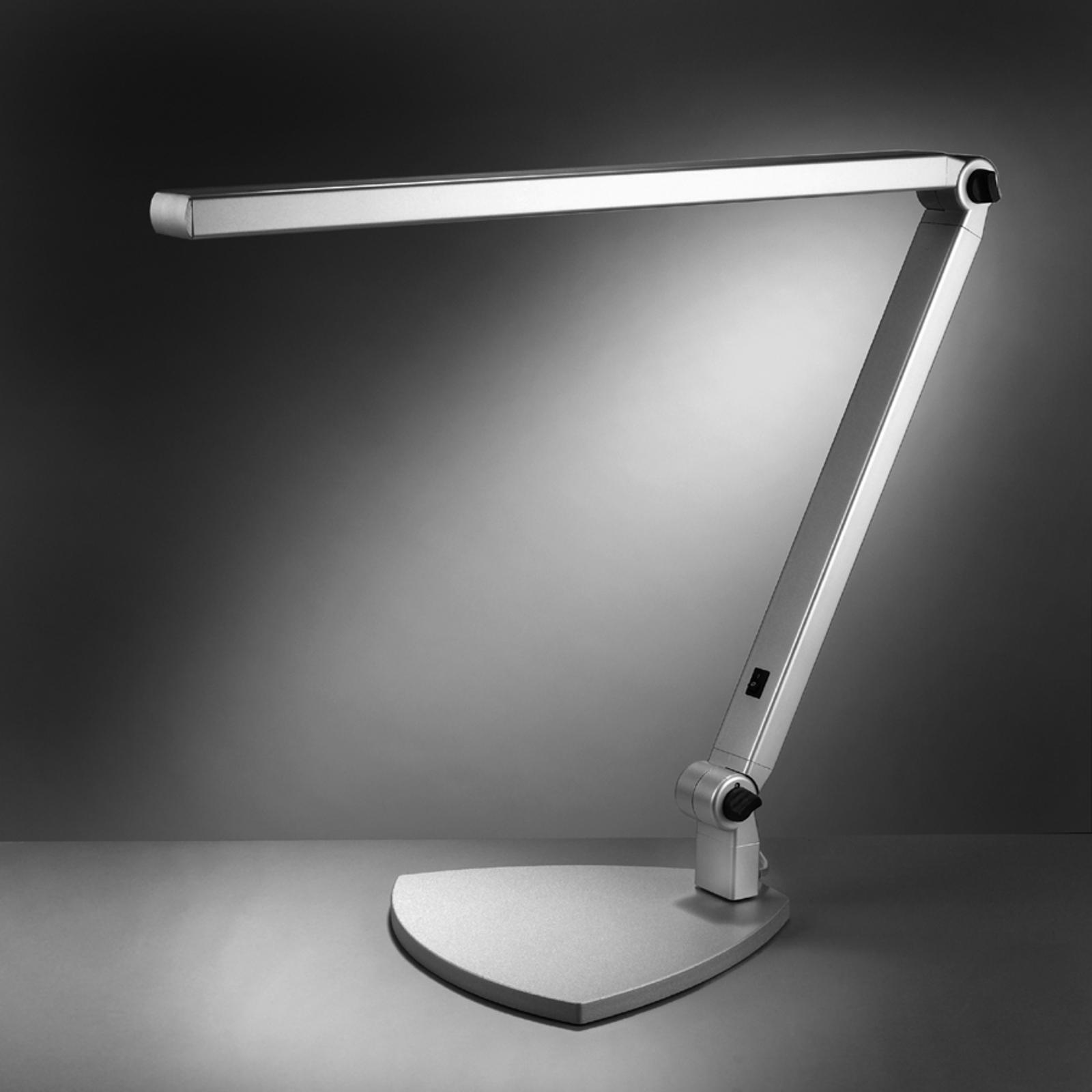 LED-Tischleuchte Take 5, mit Fuß, universalweiß