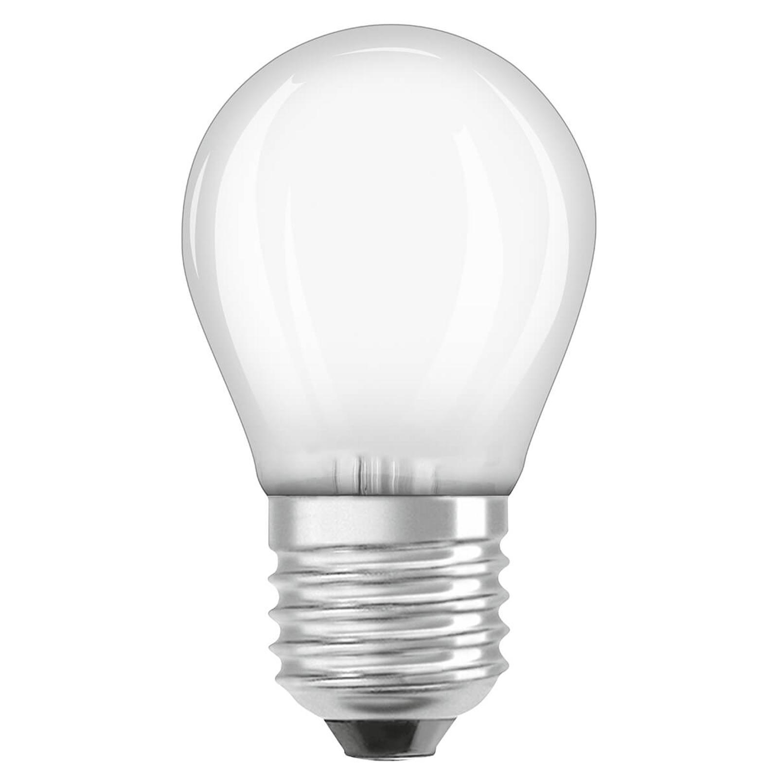 OSRAM LED-dråpepære E27 5 W 827 dimbar
