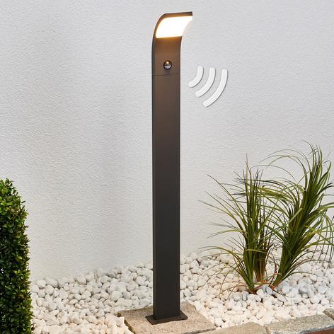 LED-gatelampe Timm med bevegelsessensor, 100 cm