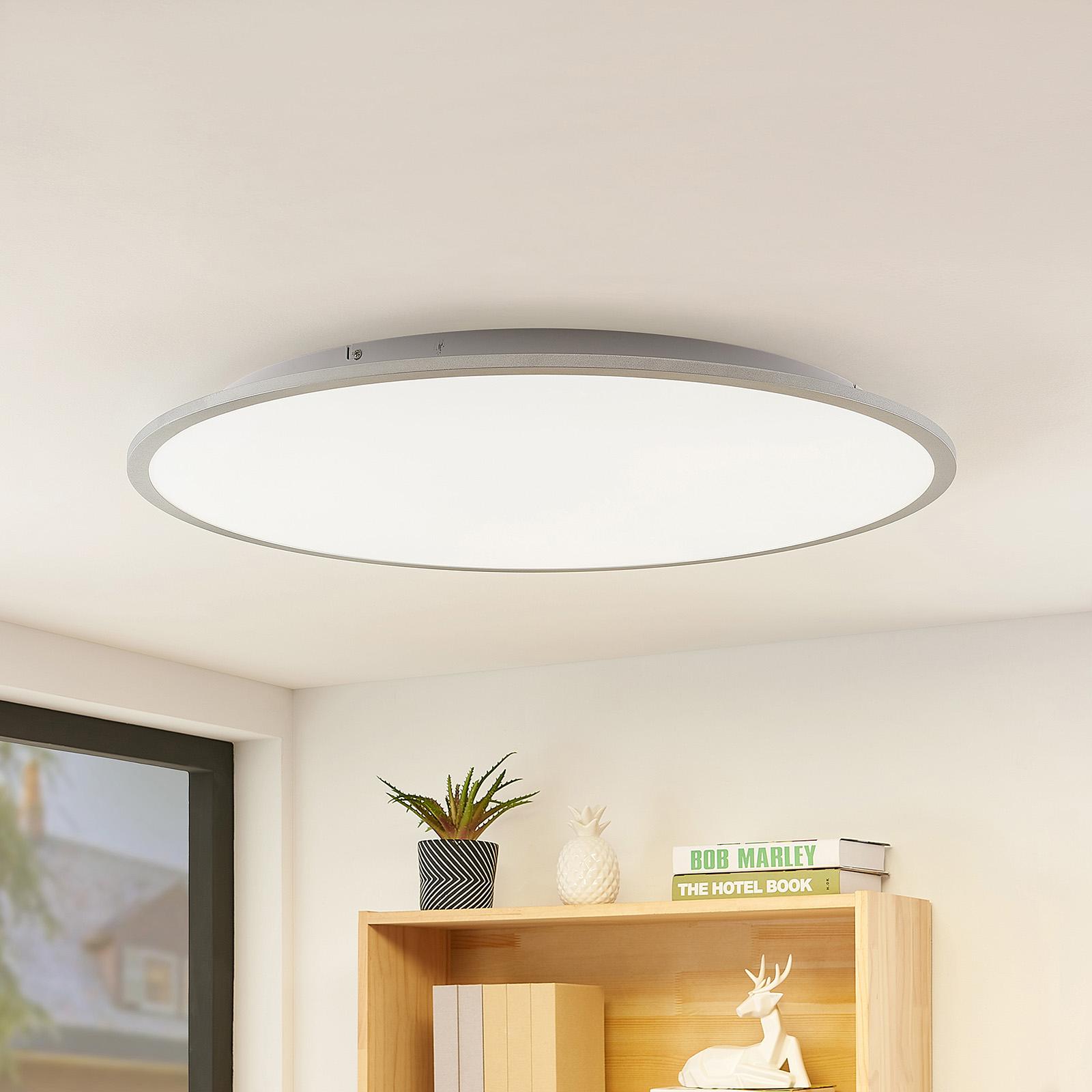 Lindby Narima lampa sufitowa LED, CCT, Ø 80 cm