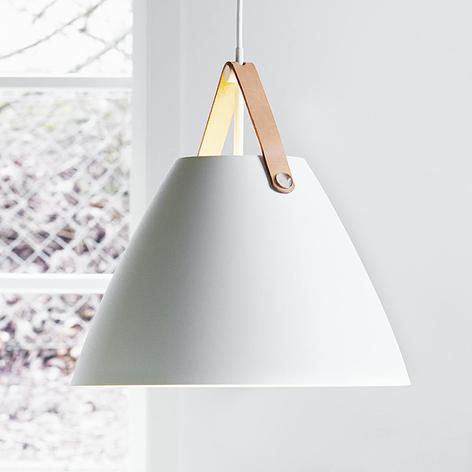 Met leren ophanging - LED hanglamp Strap 36