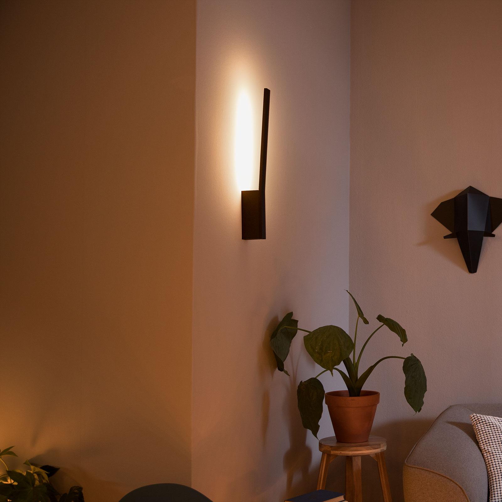 Philips Hue Liane applique LED, RGBW, noire