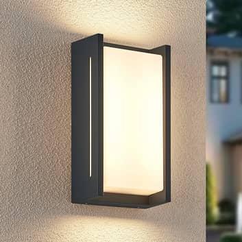 Lindby Inosto LED-Außenwandleuchte in dunklem Grau