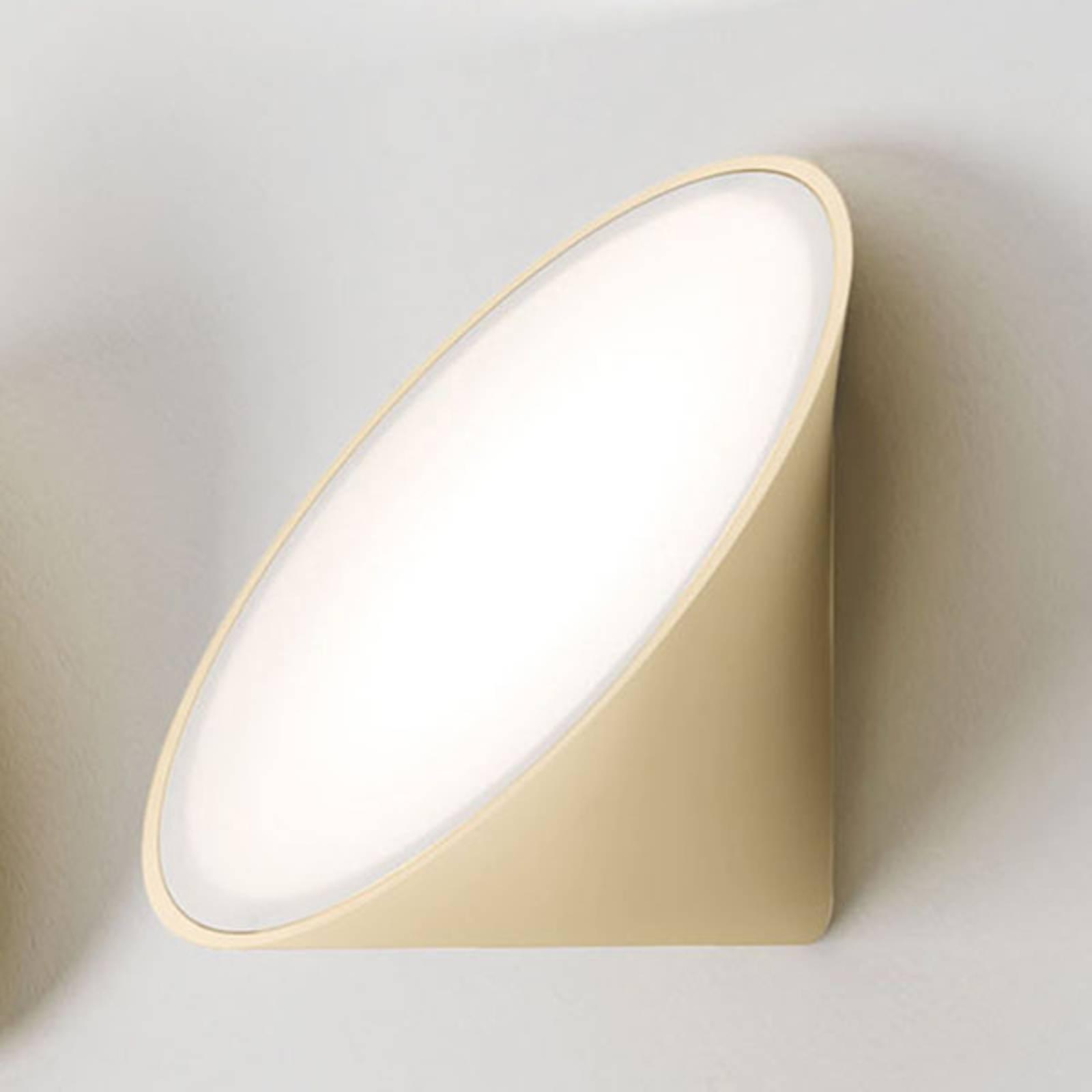 Axolight Orchid LED-Wandleuchte, sand