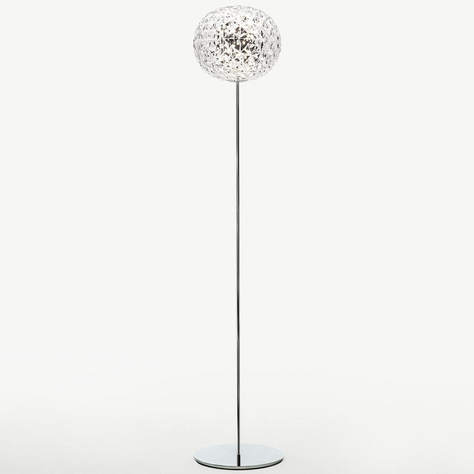 Kartell Planet LED-Stehleuchte, kristallklar