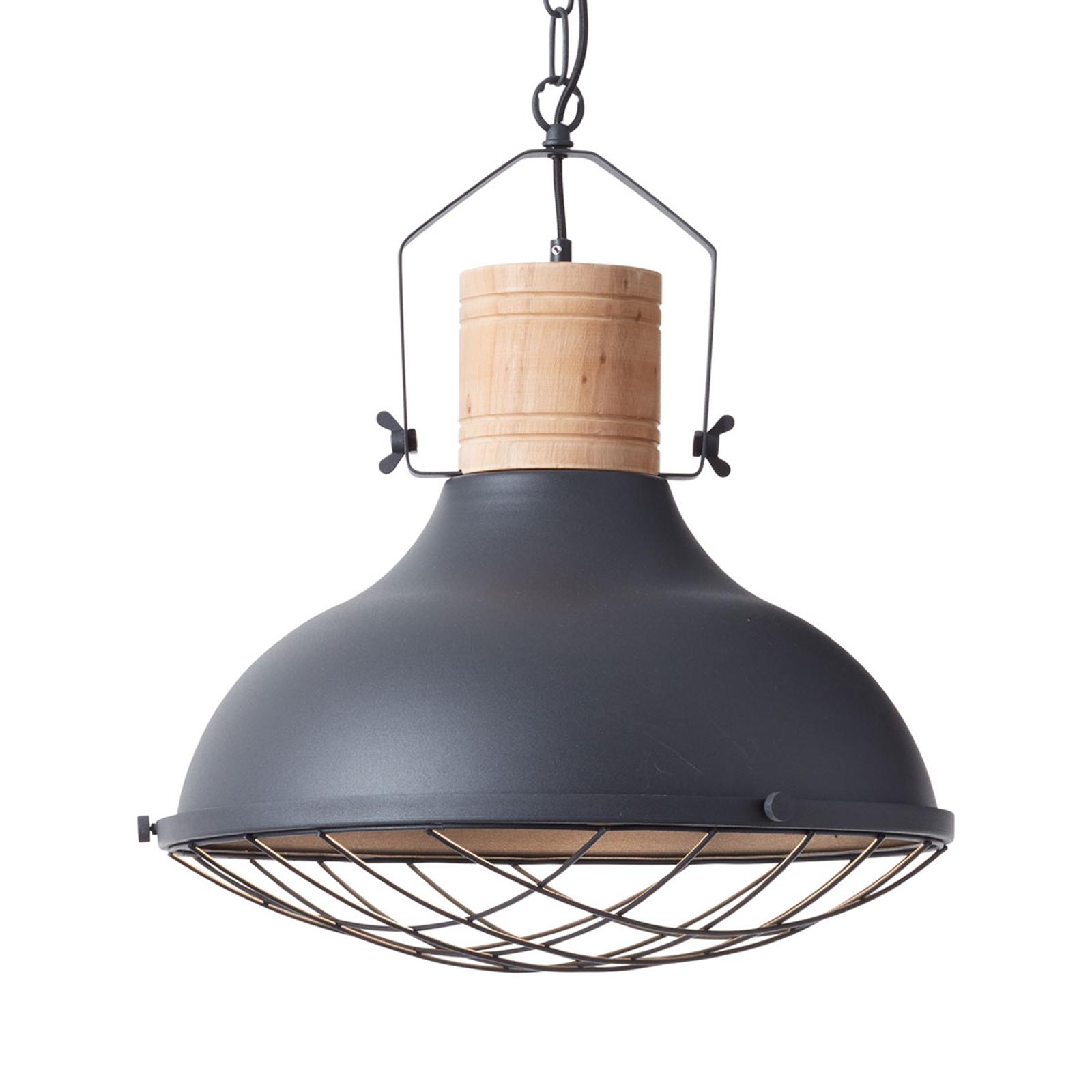 Lampa wisząca Emma z konstrukcją klatkową