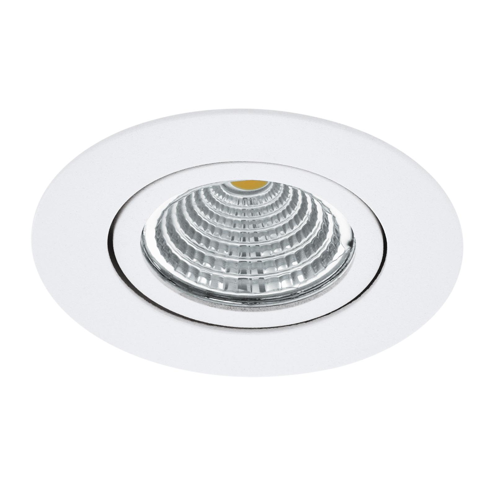 Foco LED Saliceto redondo giratorio 2.700K blanco