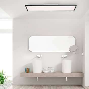 LED-Aufbaupanel Flat CCT, schwarz, 119 x 29 cm