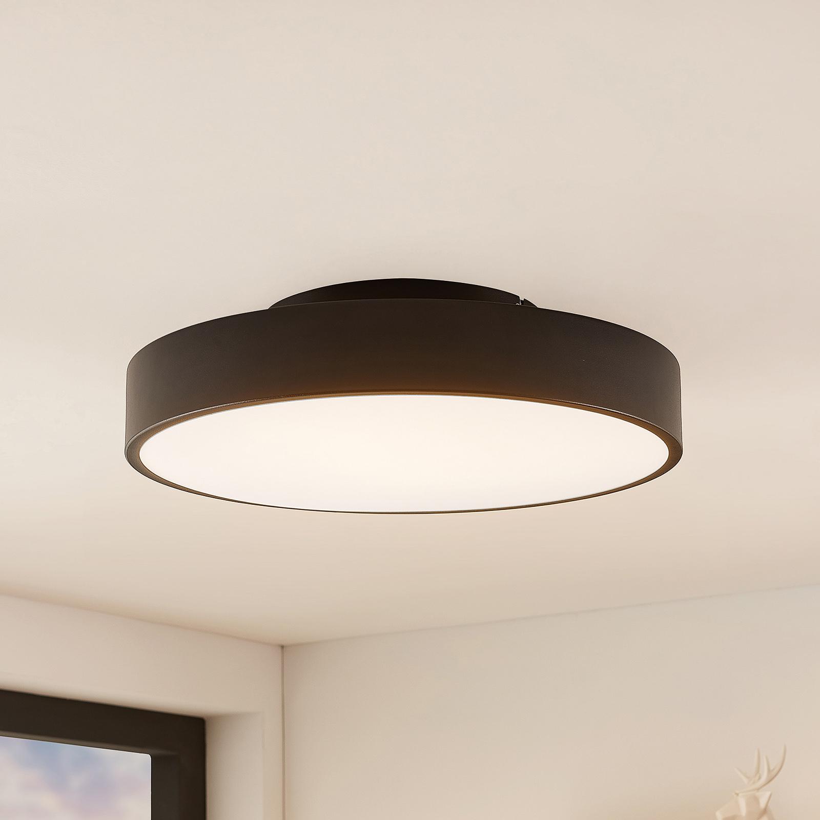 Lindby Milada LED stropní svítidlo, černá