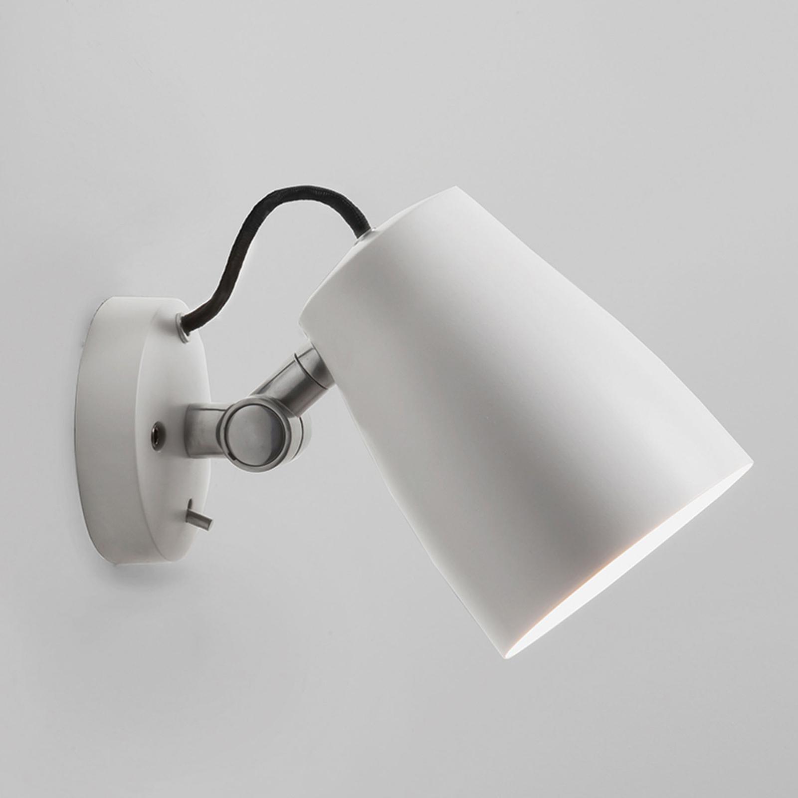 Astro Atelier wandlamp, wit