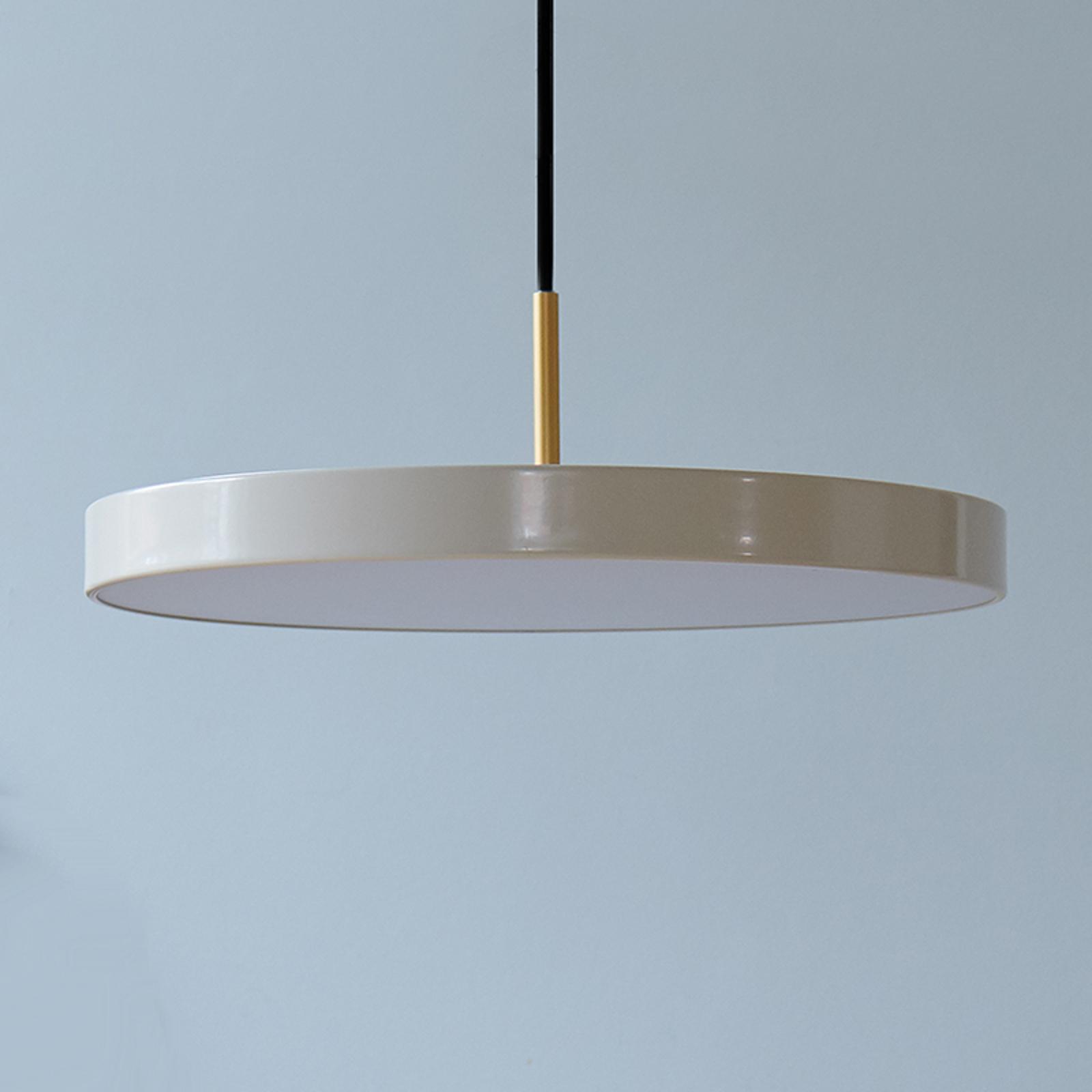UMAGE Asteria mini lámpara colgante latón perla