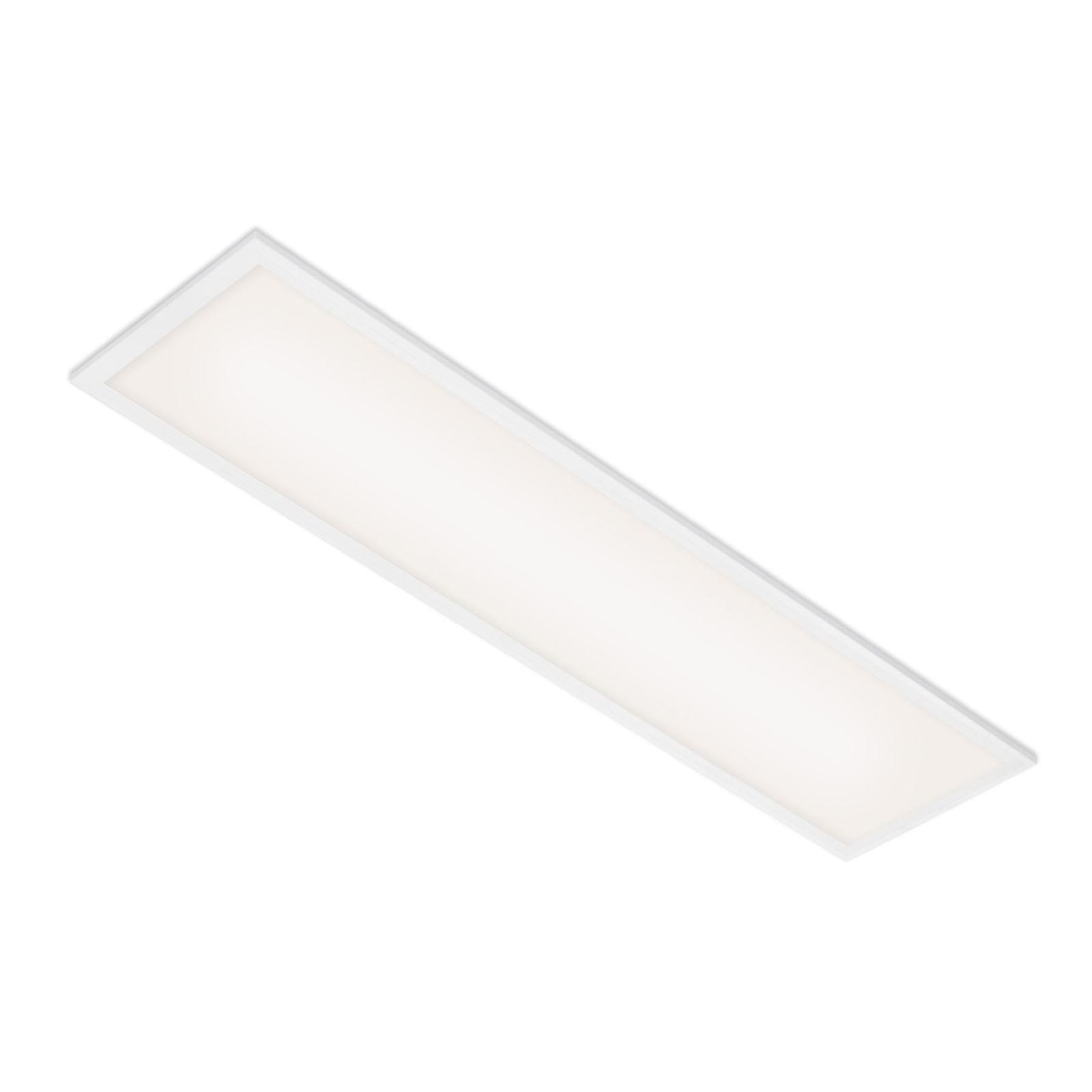 Simple LED-panel, hvidt, ultrafladt, 100 x 25 cm