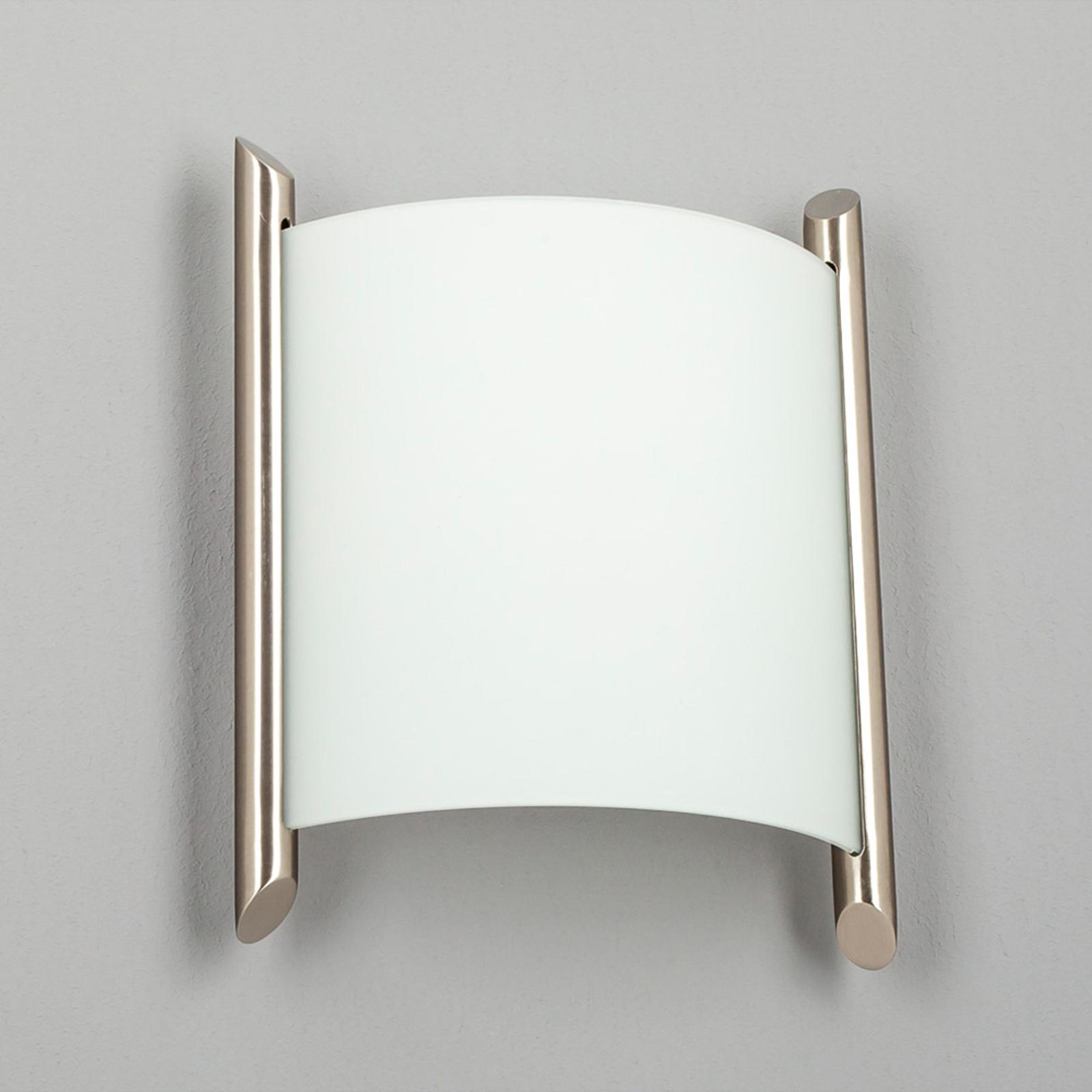 Applique Filippa, 20 cm, nickel satiné
