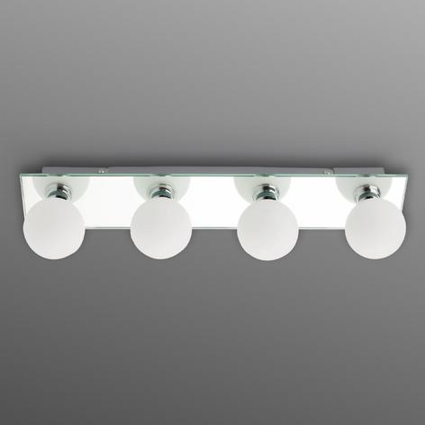 Plafoniera da bagno LASS, 4 luci