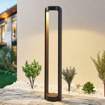Lucande Habsa bolardo luminoso LED, altura 80 cm