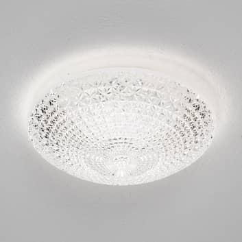 Poloskořepinové LED stropní svítidlo Kuma