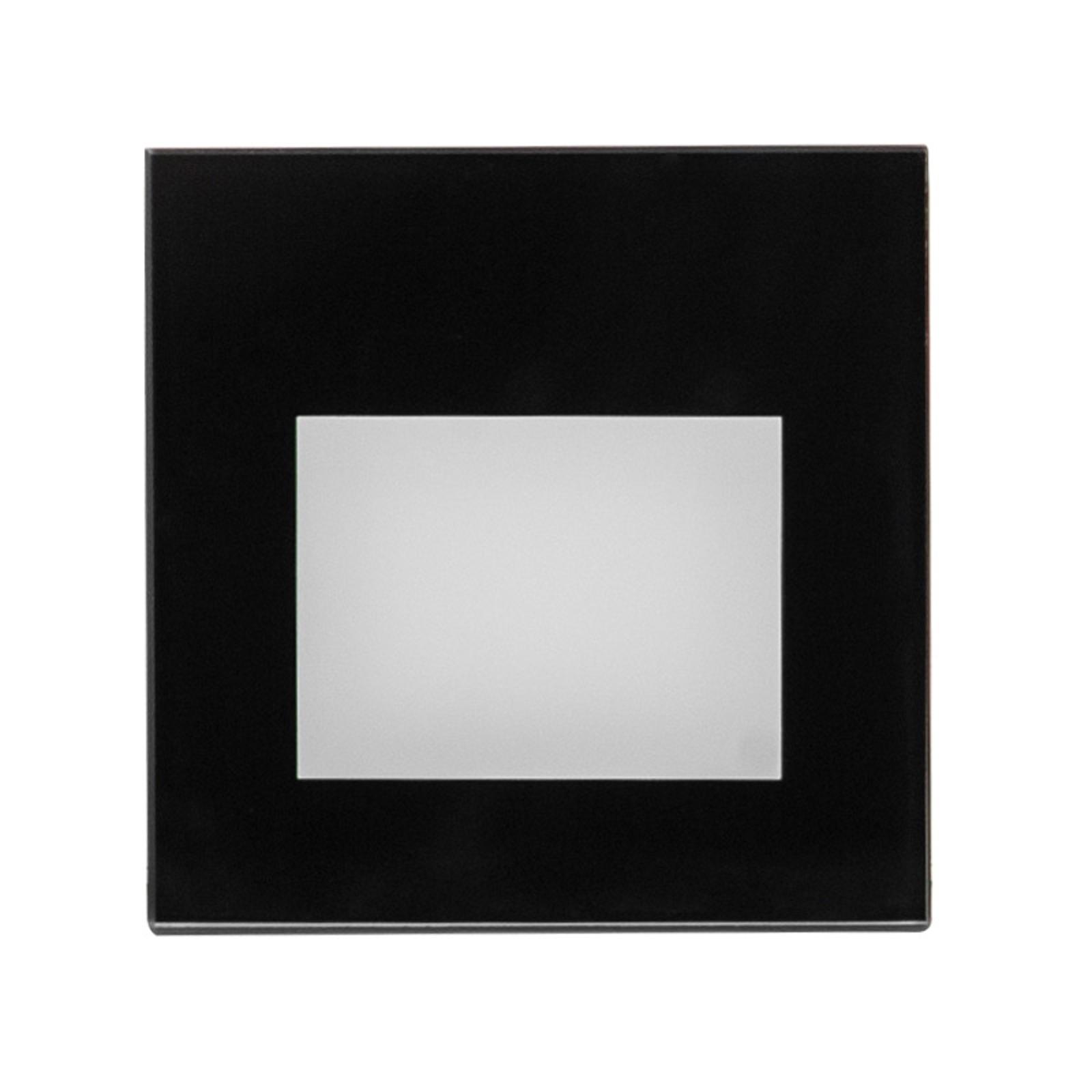 BRUMBERG Wall Kit68 Einbau flach eckig schwarz