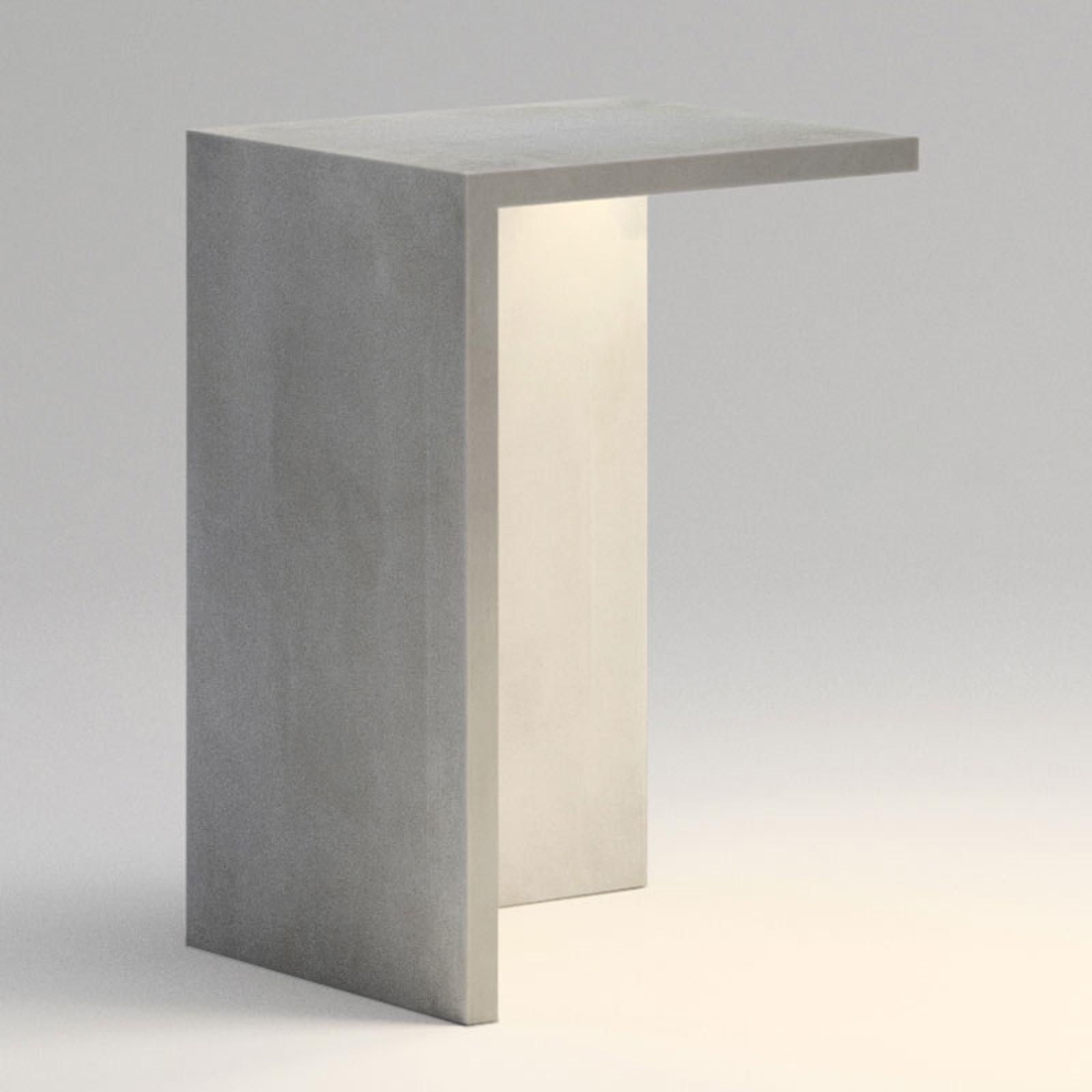 Vibia Empty 4130 applique da esterni cemento 70 cm