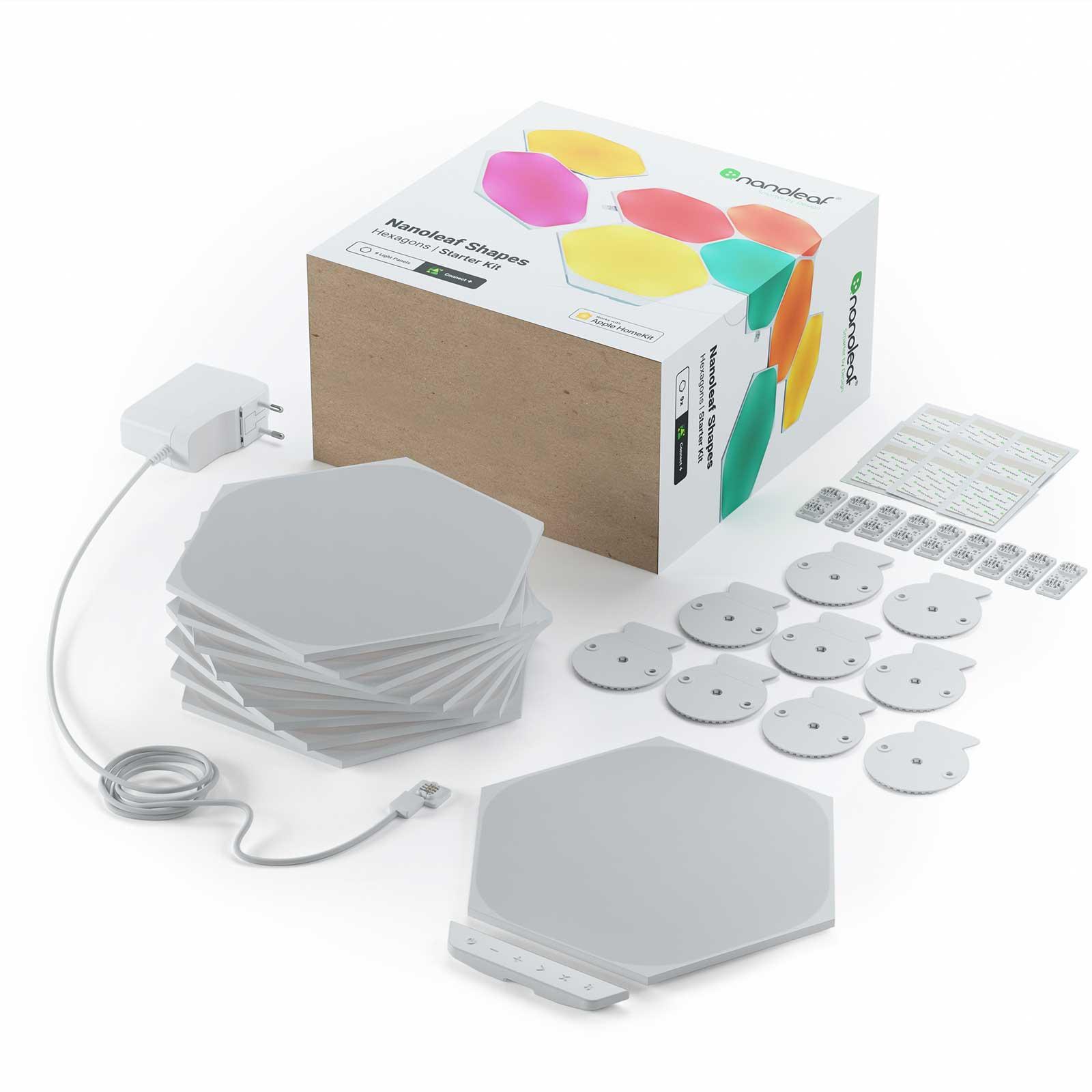 Nanoleaf Shapes Hexagons, Starter Set, 9 Panels