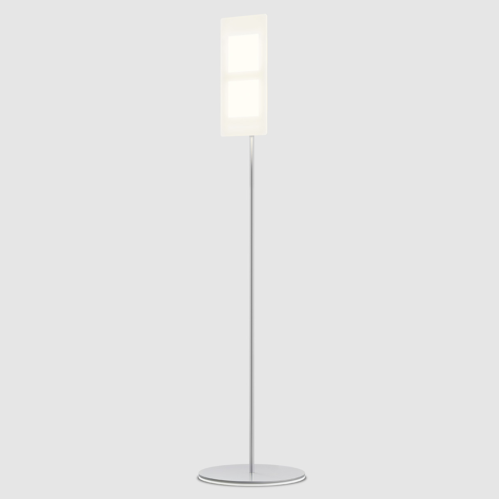 OMLED stojací lampa s OLED One f2 bílá