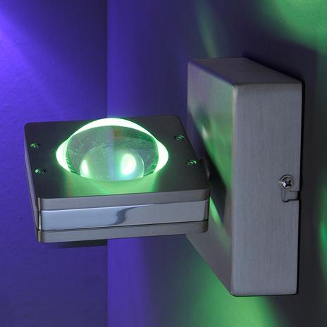 Regulowany kinkiet LED Fisheye z pilotem
