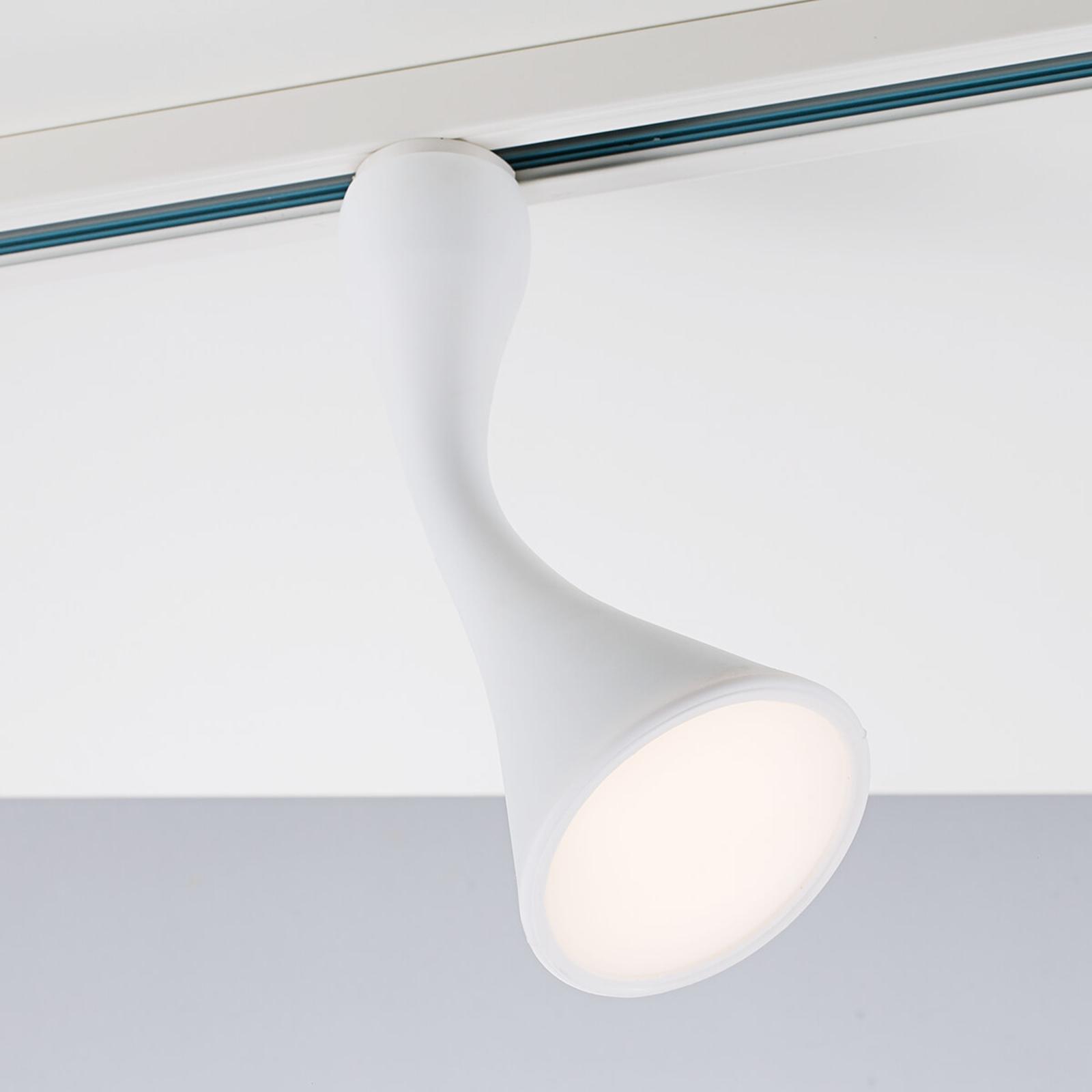 Trendiger LED spot Bendy v. 1-fase-rail Link
