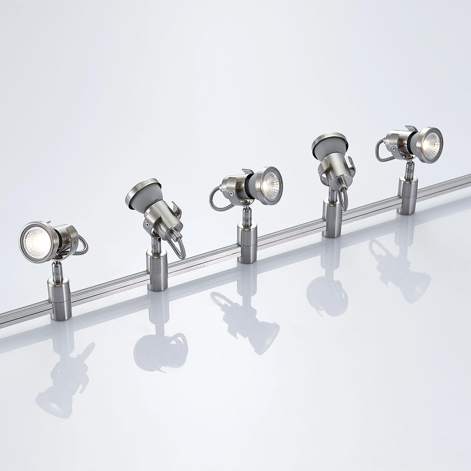 LED högspänningsskensystem Alayah, GU10