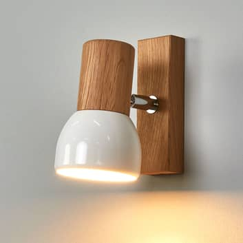 Svenda - nástěnné bodové svítidlo dub olejovaný