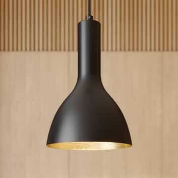 Arcchio Cosmina -riippuvalo, 1-lamp., musta