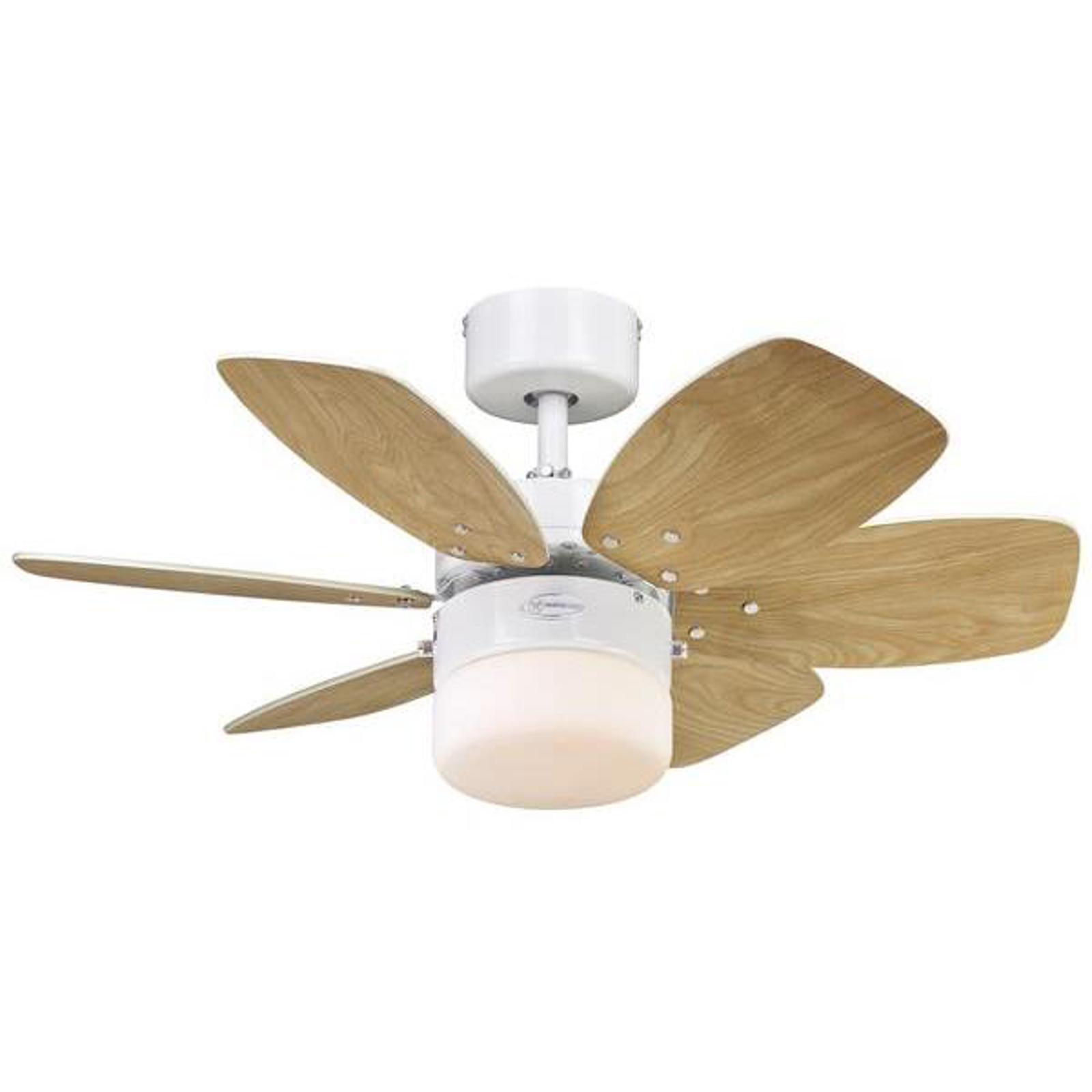 Ventilatore da soffitto Flora Royal con lampada