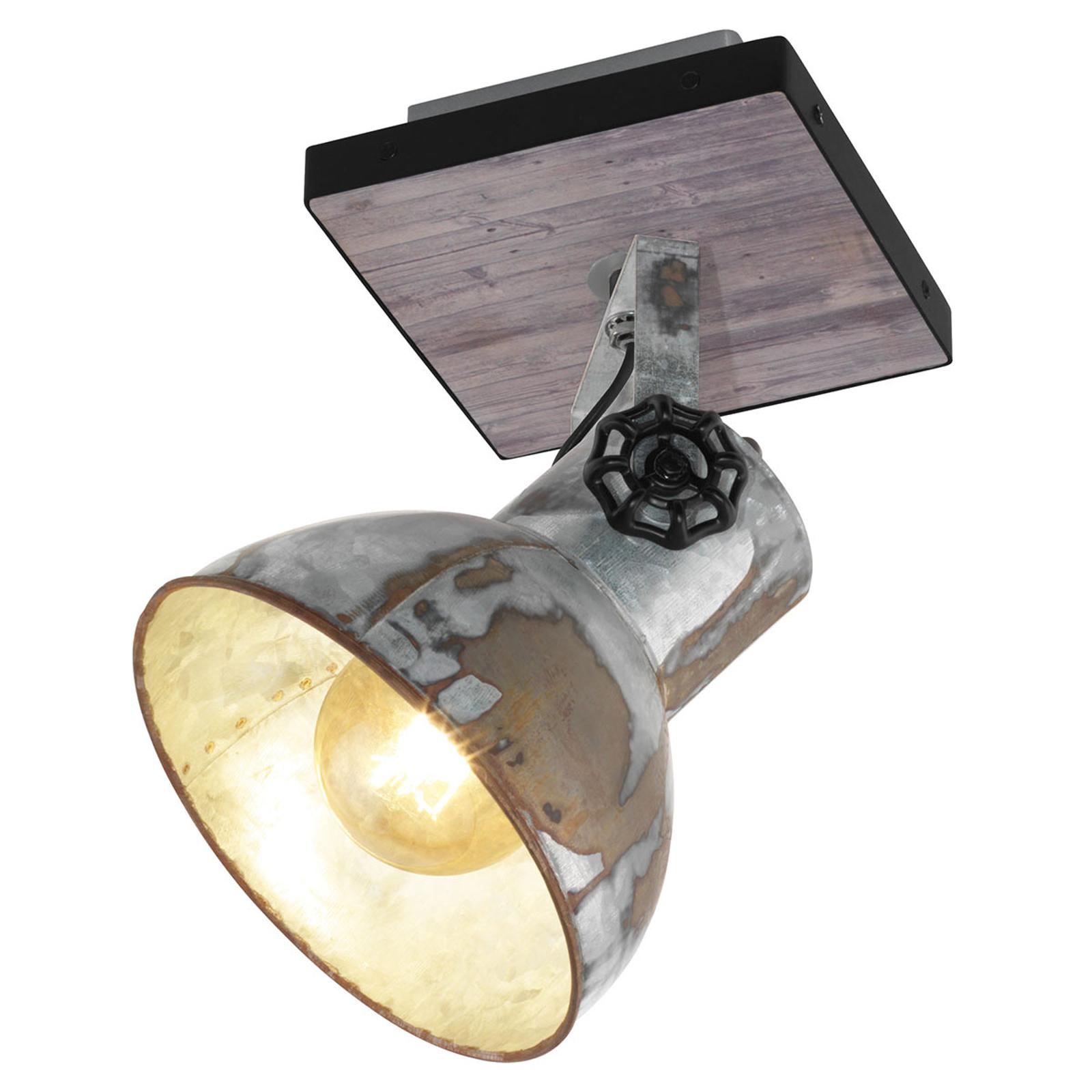 Lámpara de techo Barnstaple diseño industrial 1f.