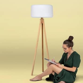 Newgarden Chloe lampadaire LED solaire+batterie