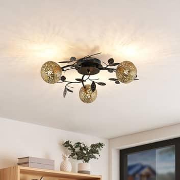Lucande Evory taklampe, rund, 3 lyskilder