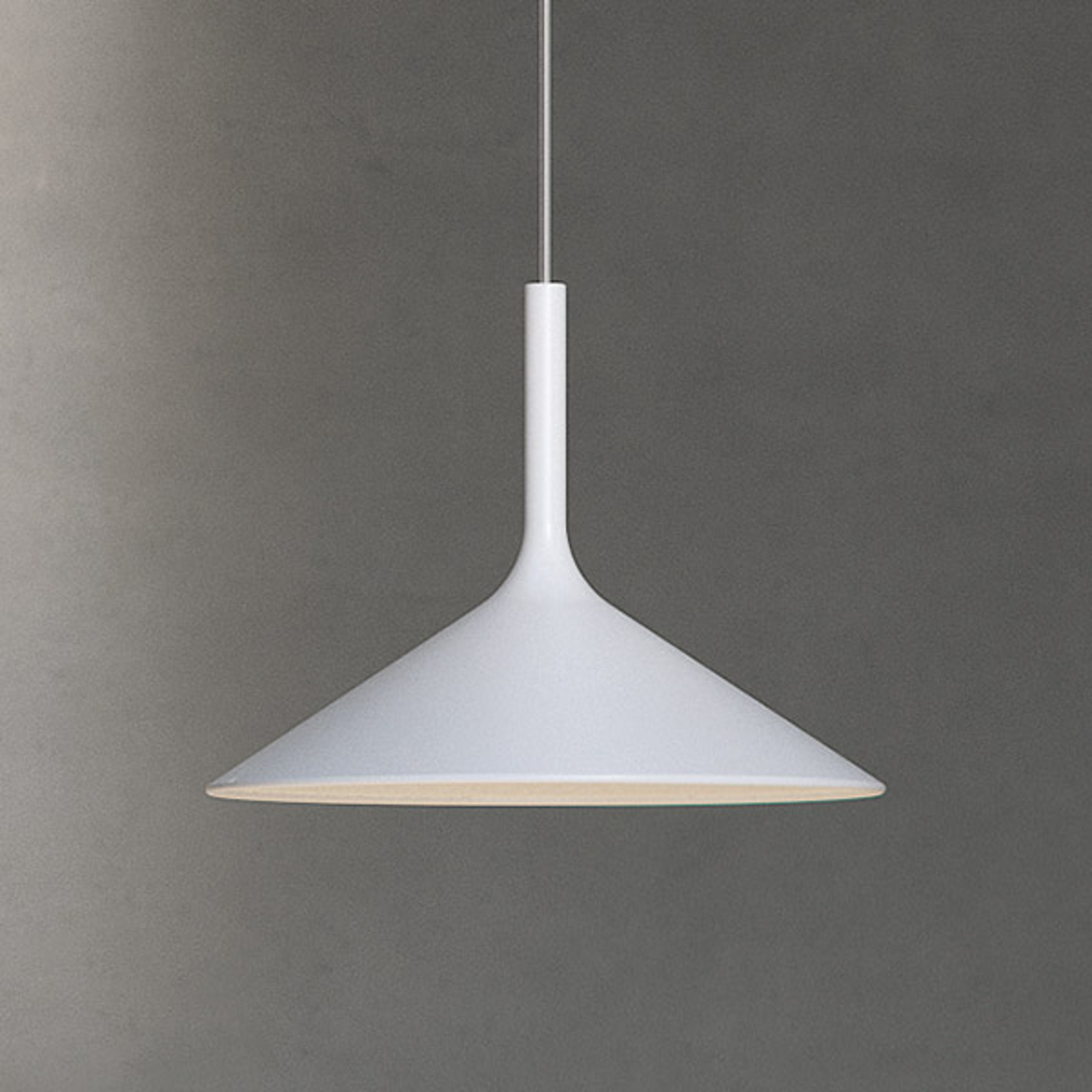 Rotaliana Dry LED-Hängeleuchte, weiß, einflammig