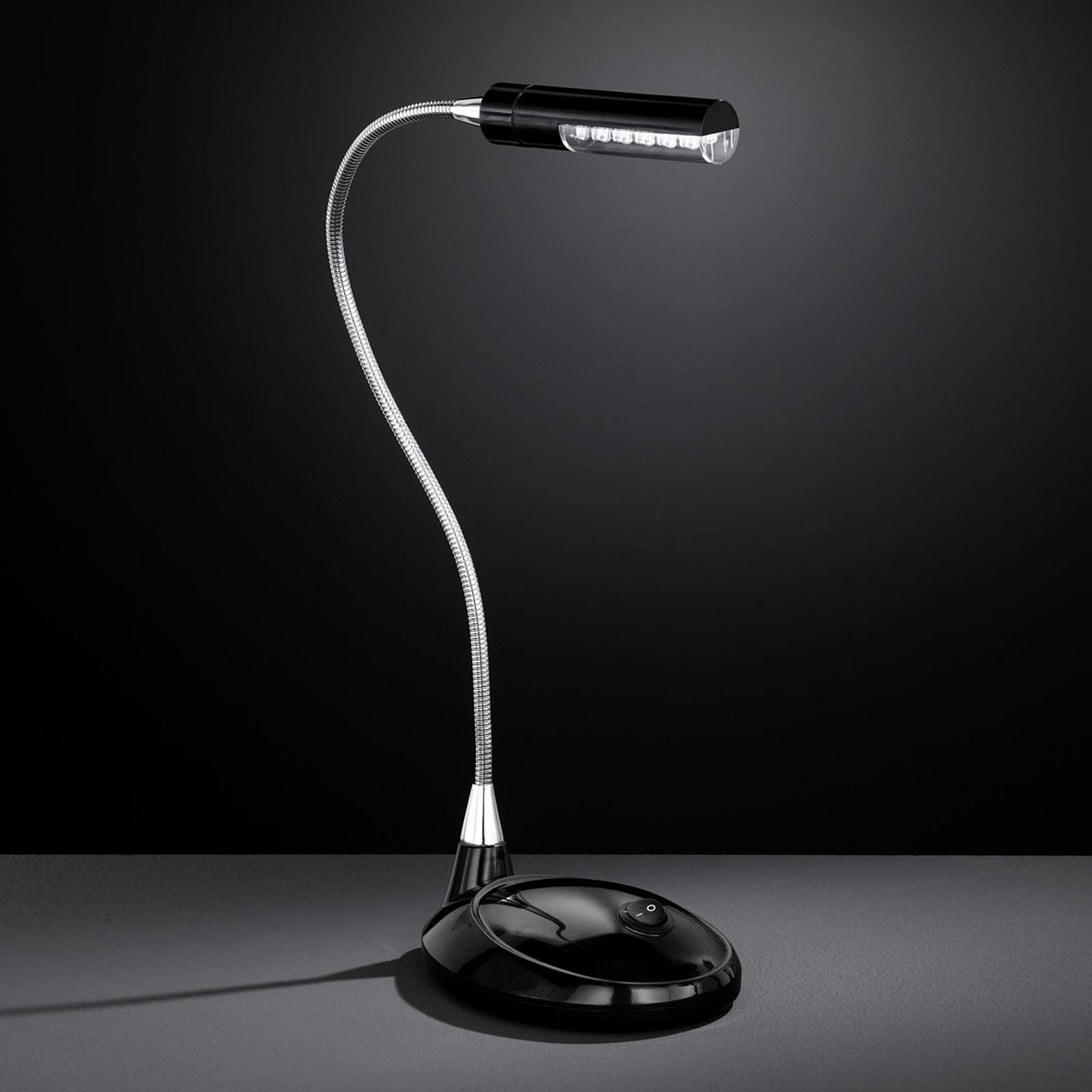 Lampe de bureau LED FLEX 901 noire