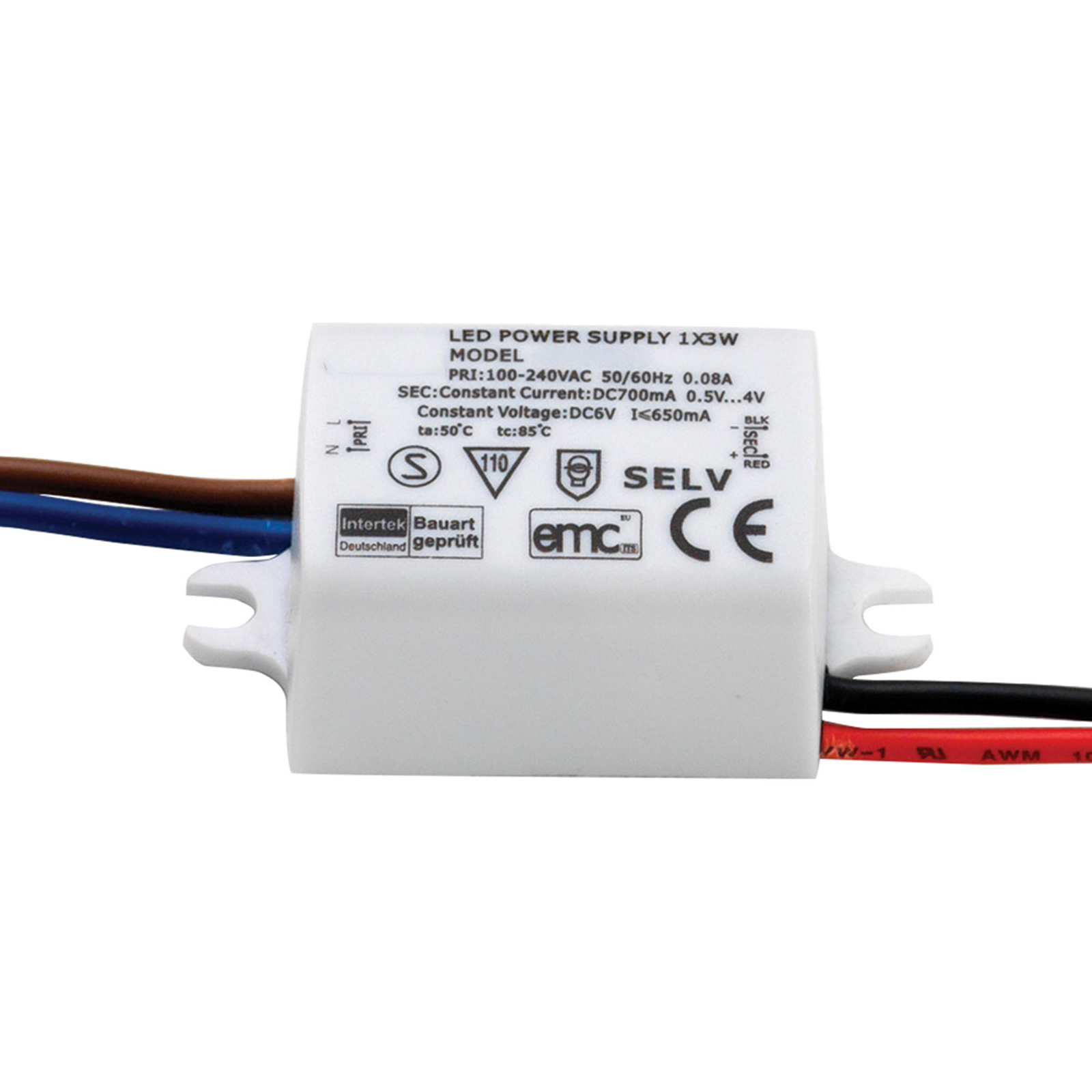 Astro LED driver 2 tot 4,55 W 700 mA