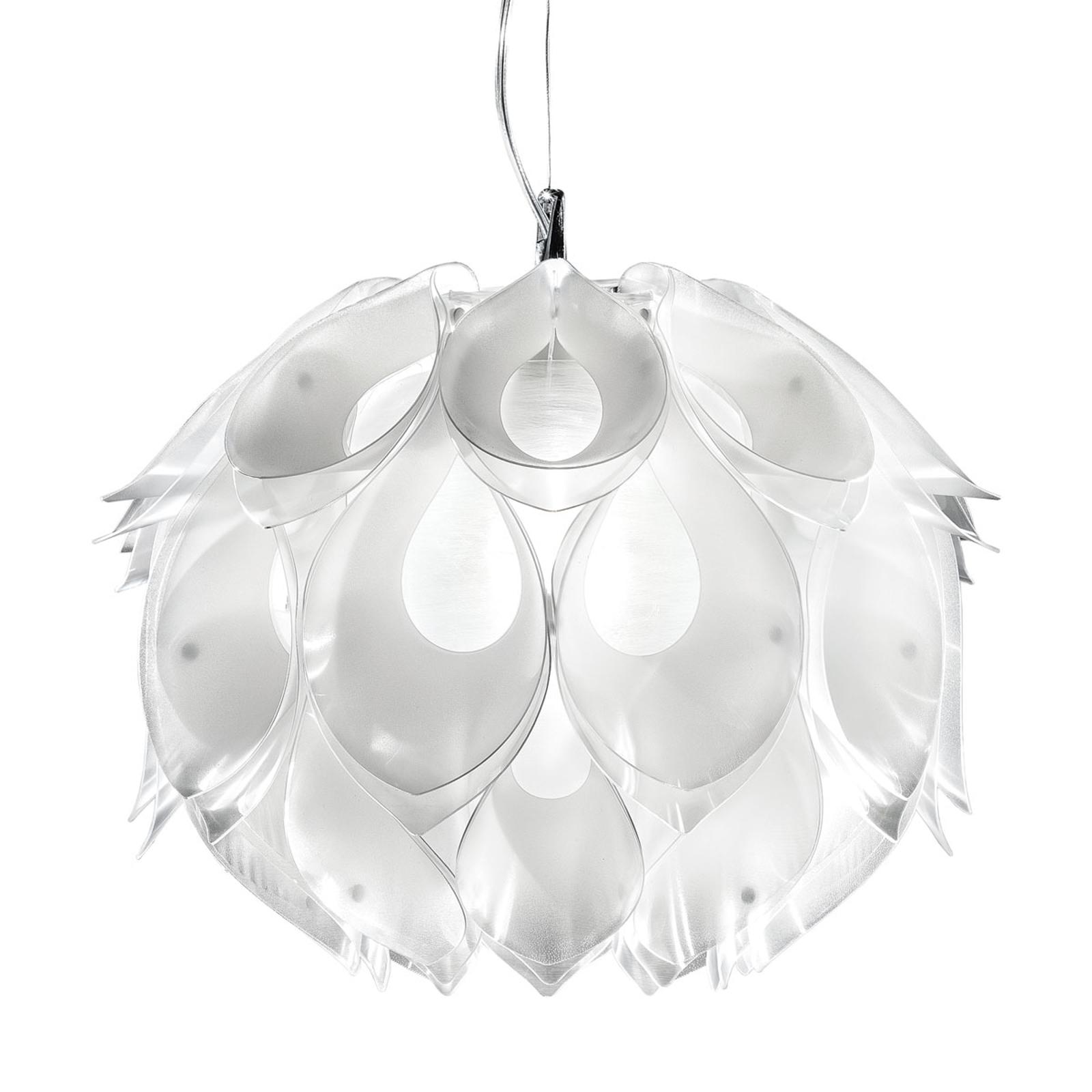 Naturalnie wyglądająca lampa wisząca FLORA S