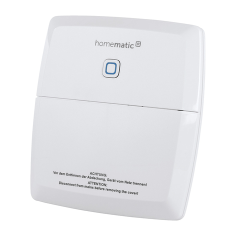 Homematic IP-schakelactuator verwarming, 2-voudig