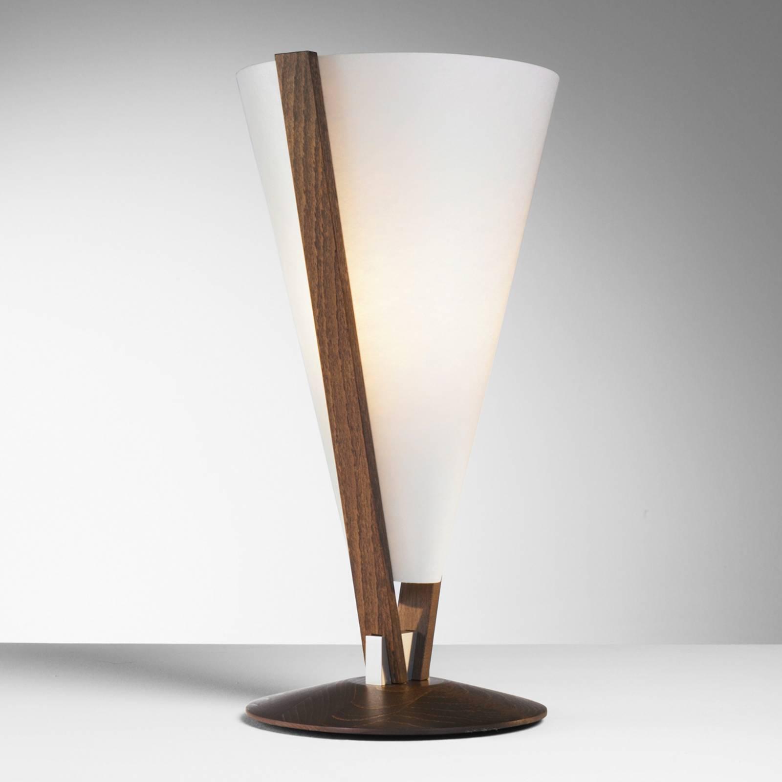 SEBA tafellamp met handschakelaar, maron