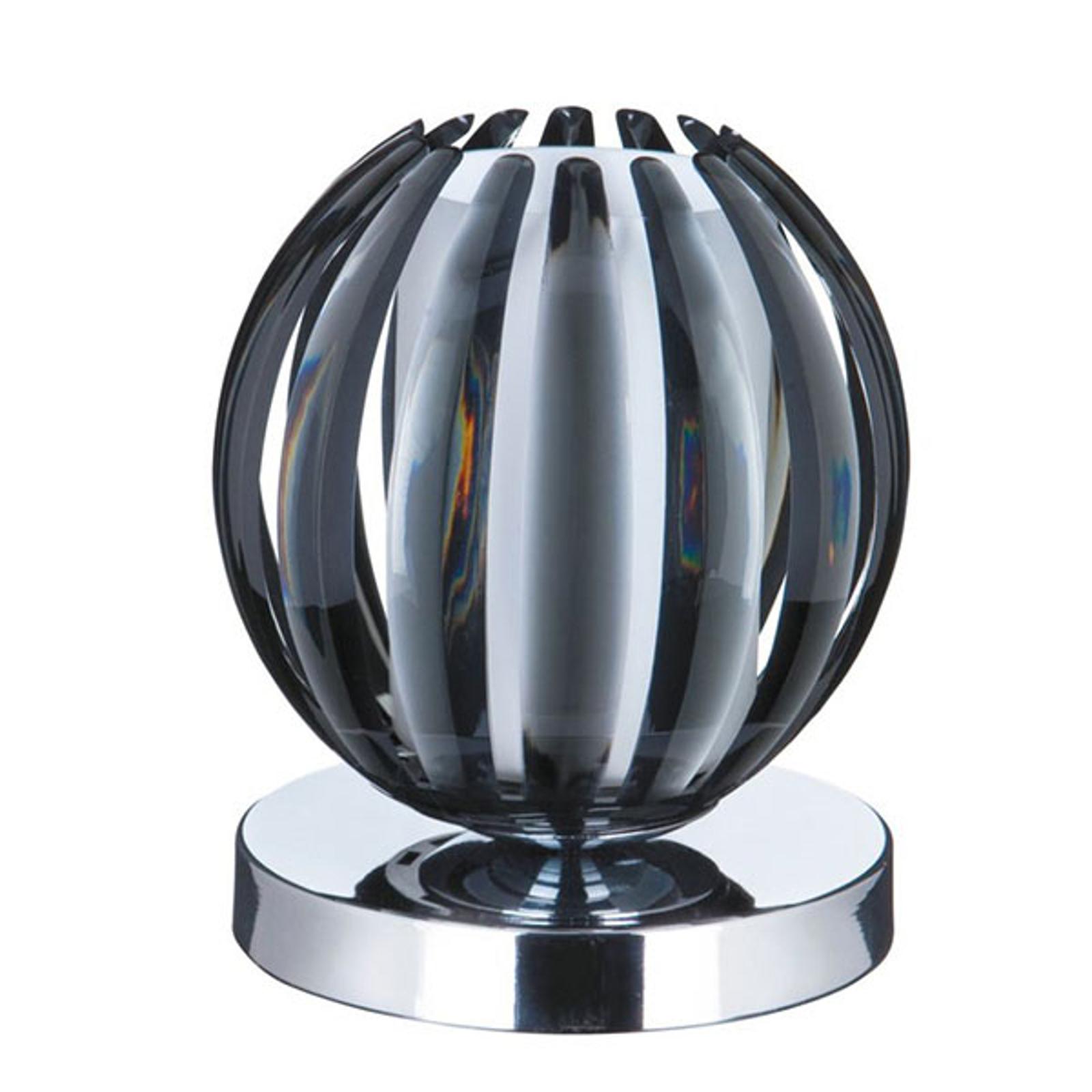 Tafellamp Claw met touchfunctie, kap rook