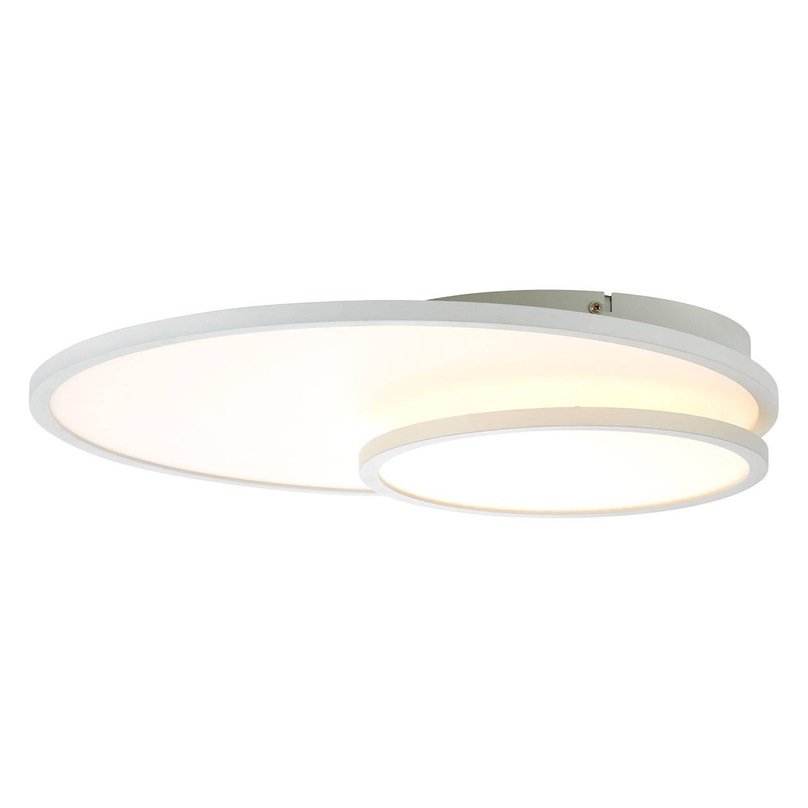 Lampa sufitowa LED Bility, okrągła, biała ramka