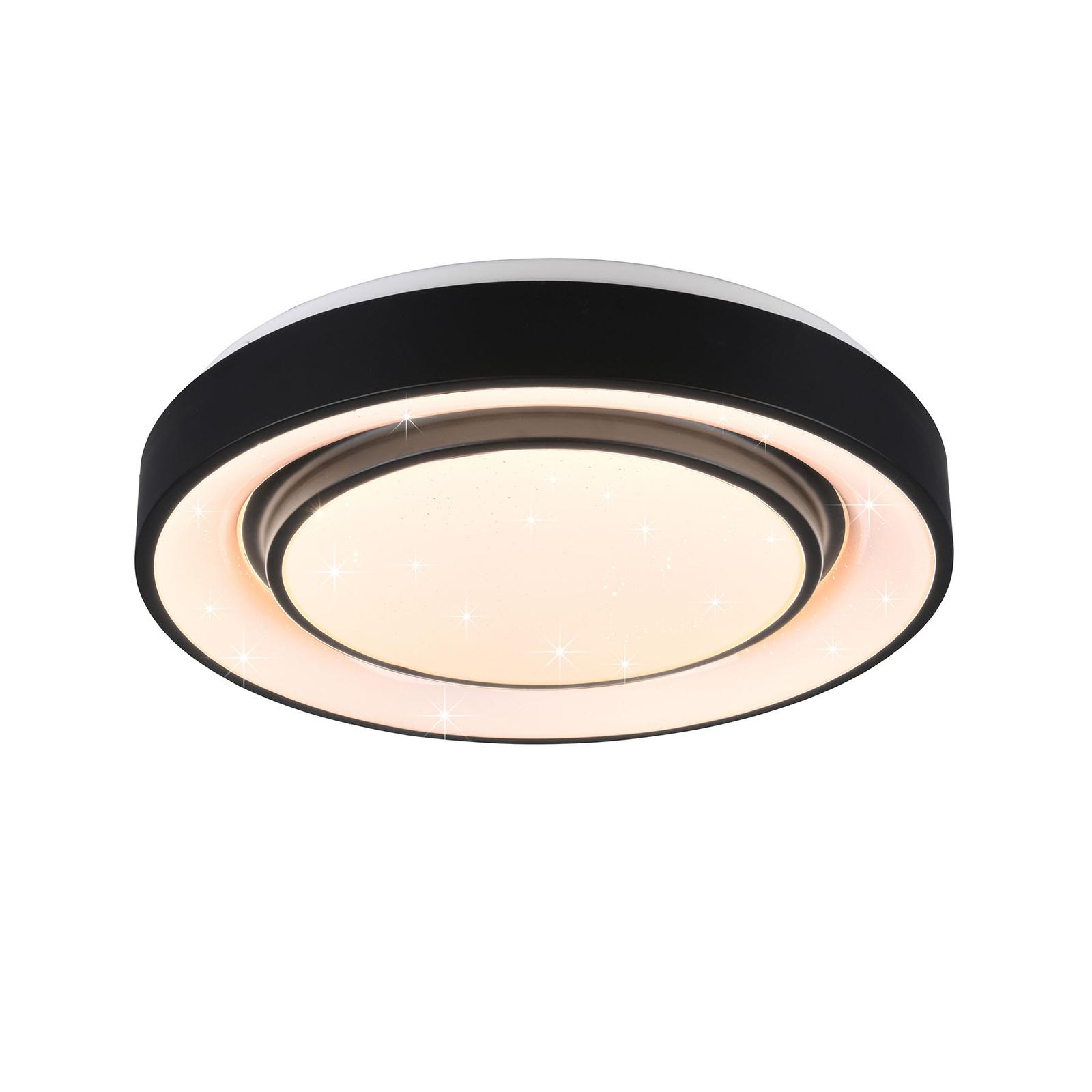 Lampa sufitowa LED Mona, WiZ, RGBW, ściemniana