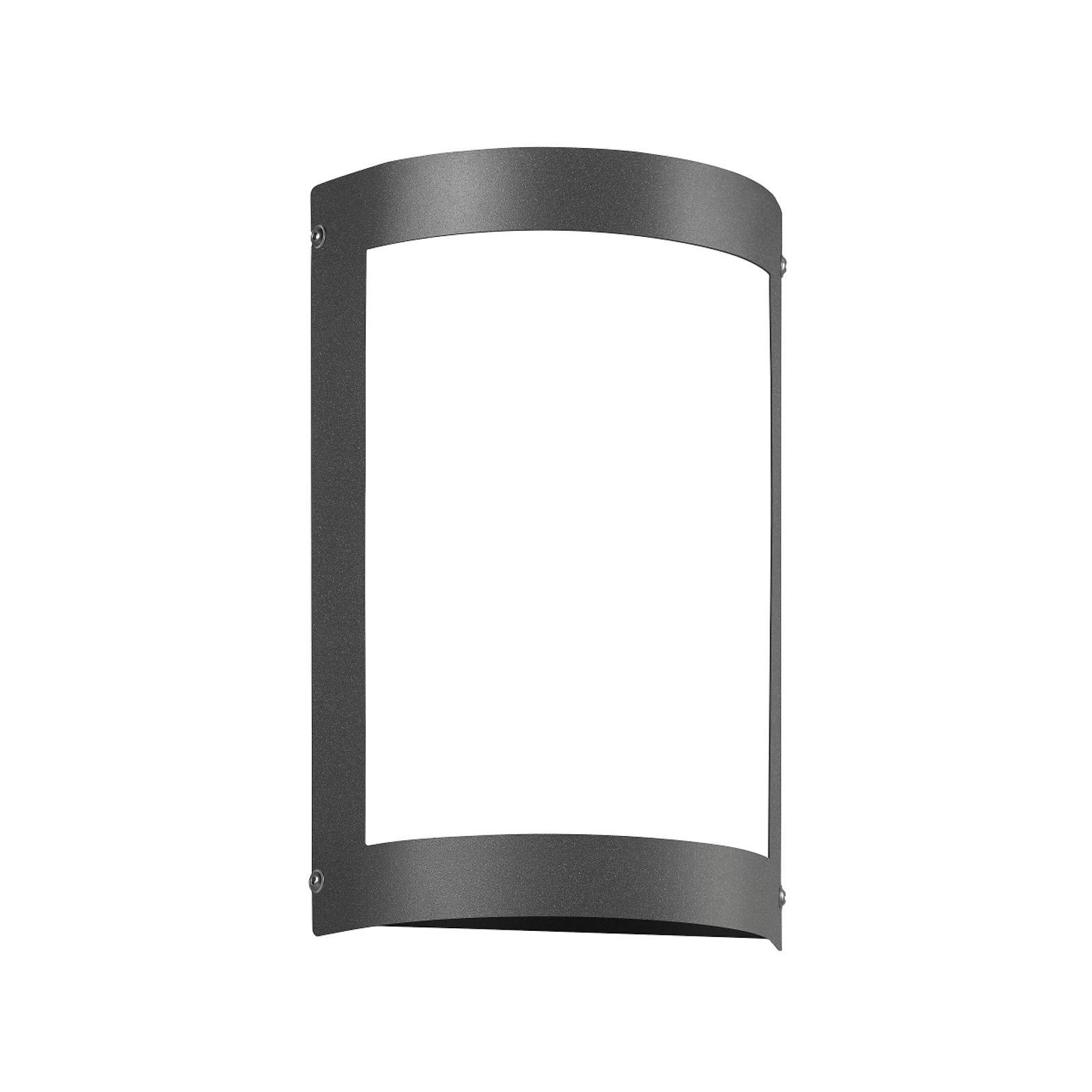 LED-utomhuslampa Aqua Marco utan raster, antracit