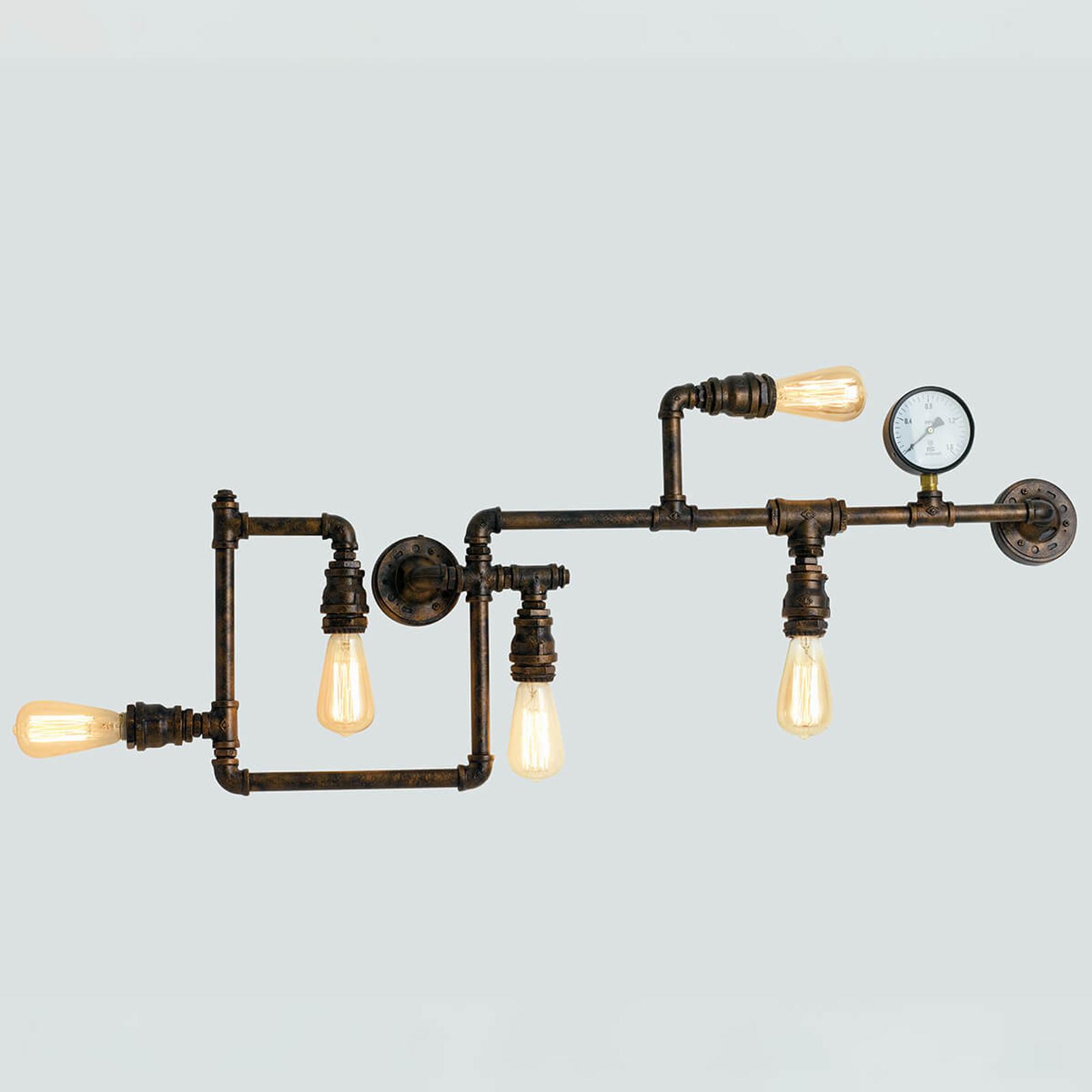 Wandlamp Amarcord, met vijf lampjes