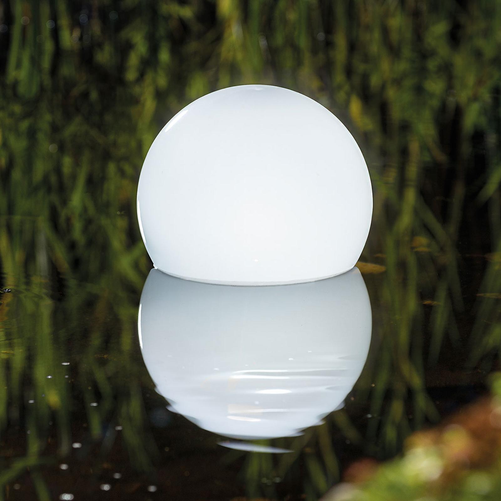 Sphère solaire LED Float 25 RVB, télécommande
