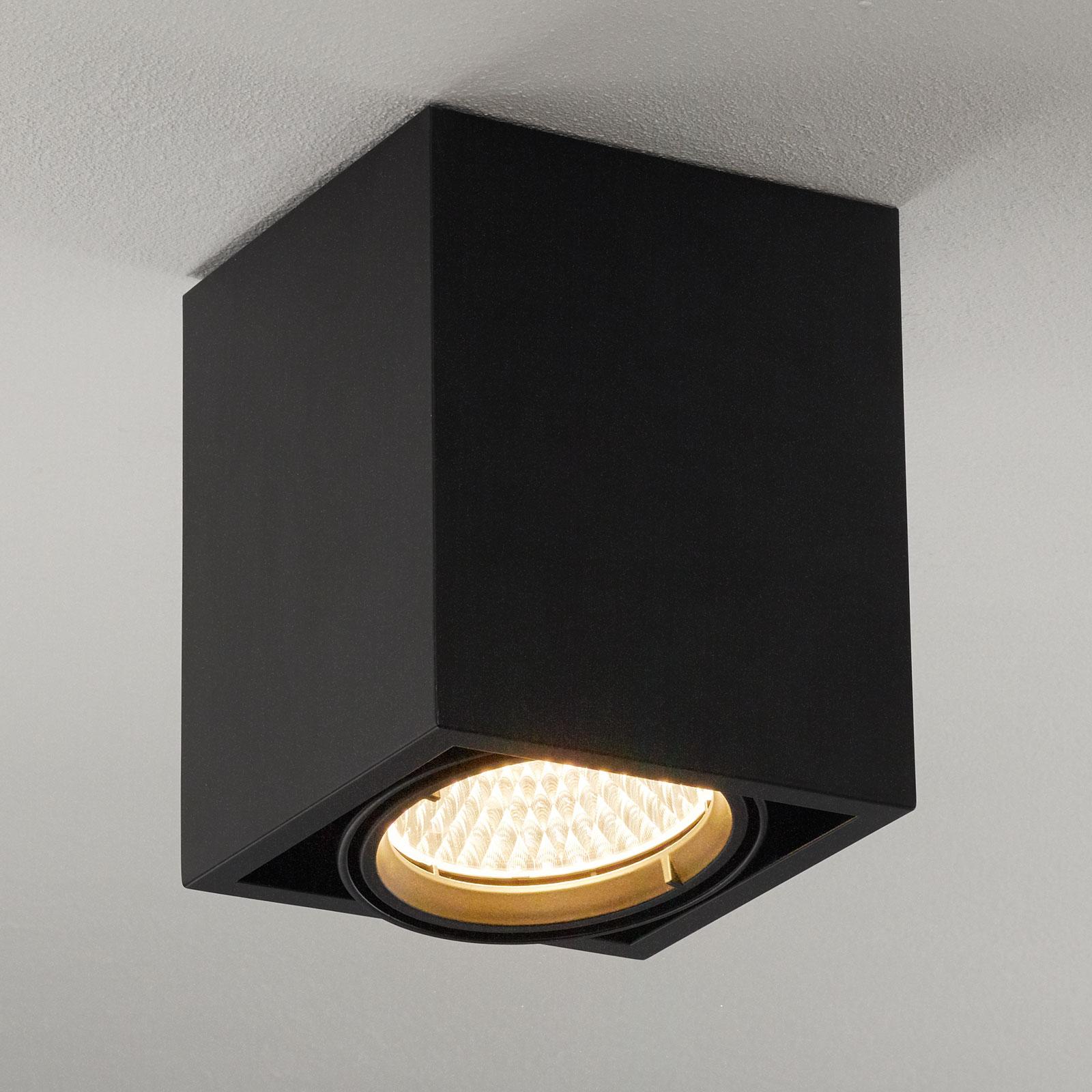 Arcchio Cirdan LED plafondlamp 1-lamp zwart