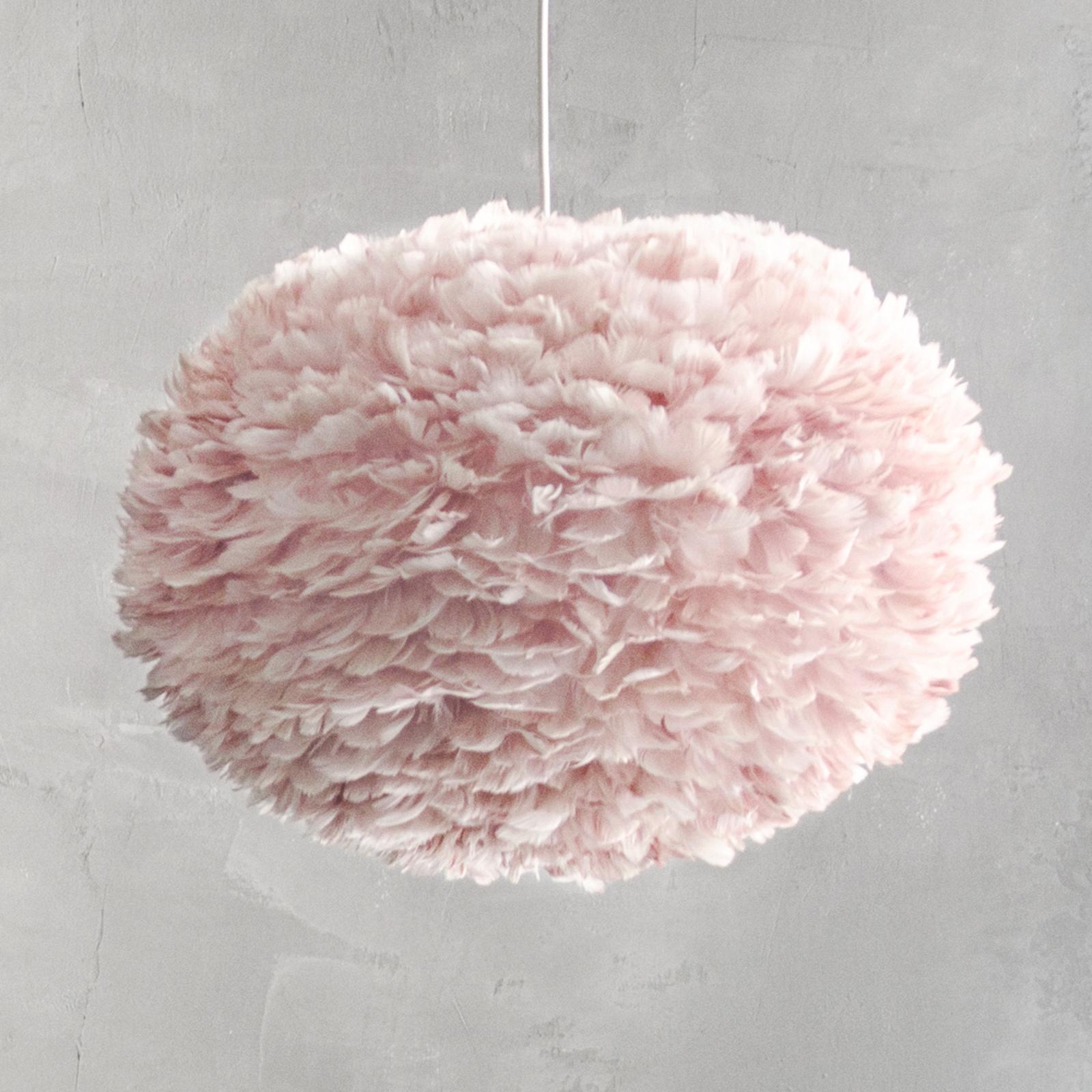UMAGE Eos large lámpara colgante plumas rosa